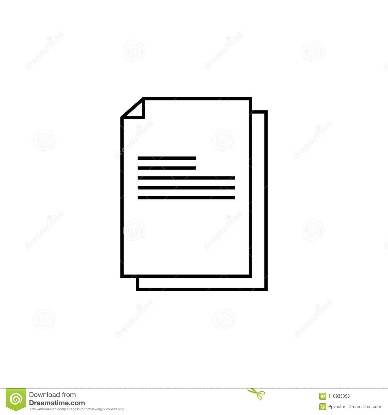 Files documents, data icon. vector