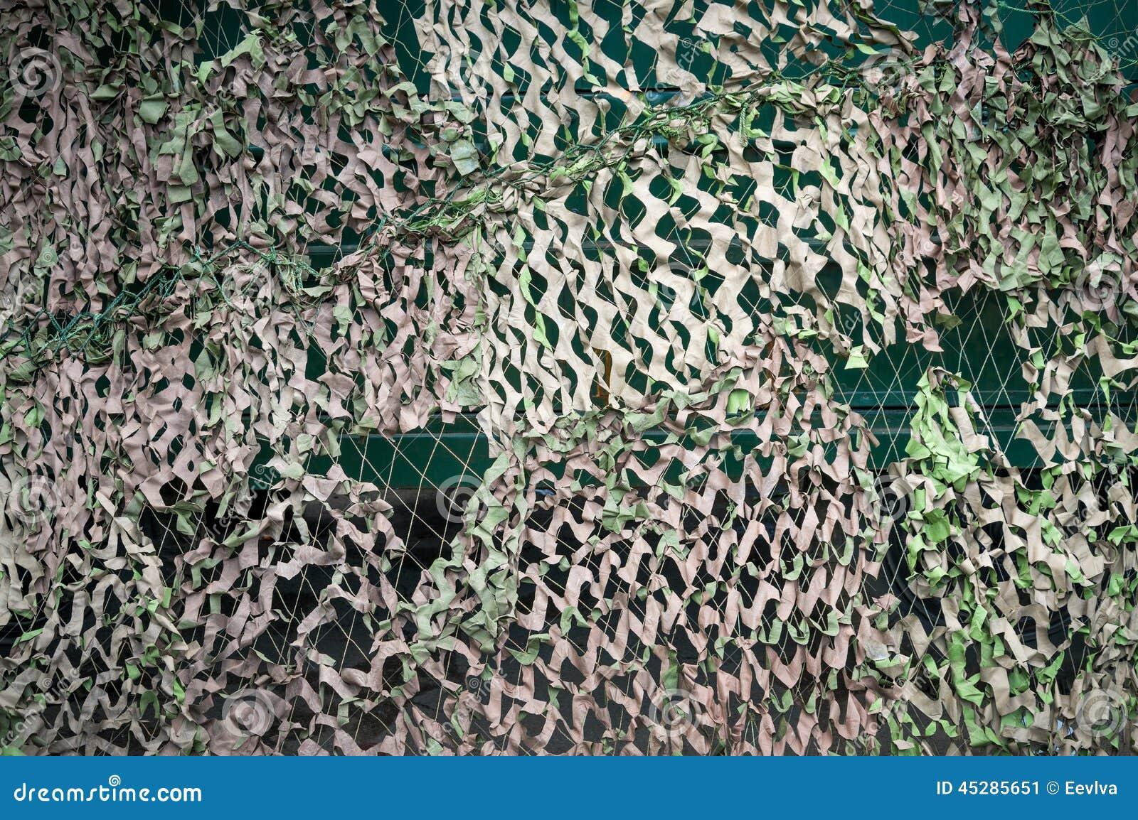 filet de camouflage photo stock image 45285651. Black Bedroom Furniture Sets. Home Design Ideas