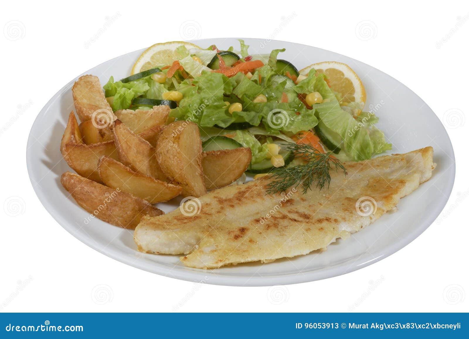 Filet de poissons grillé