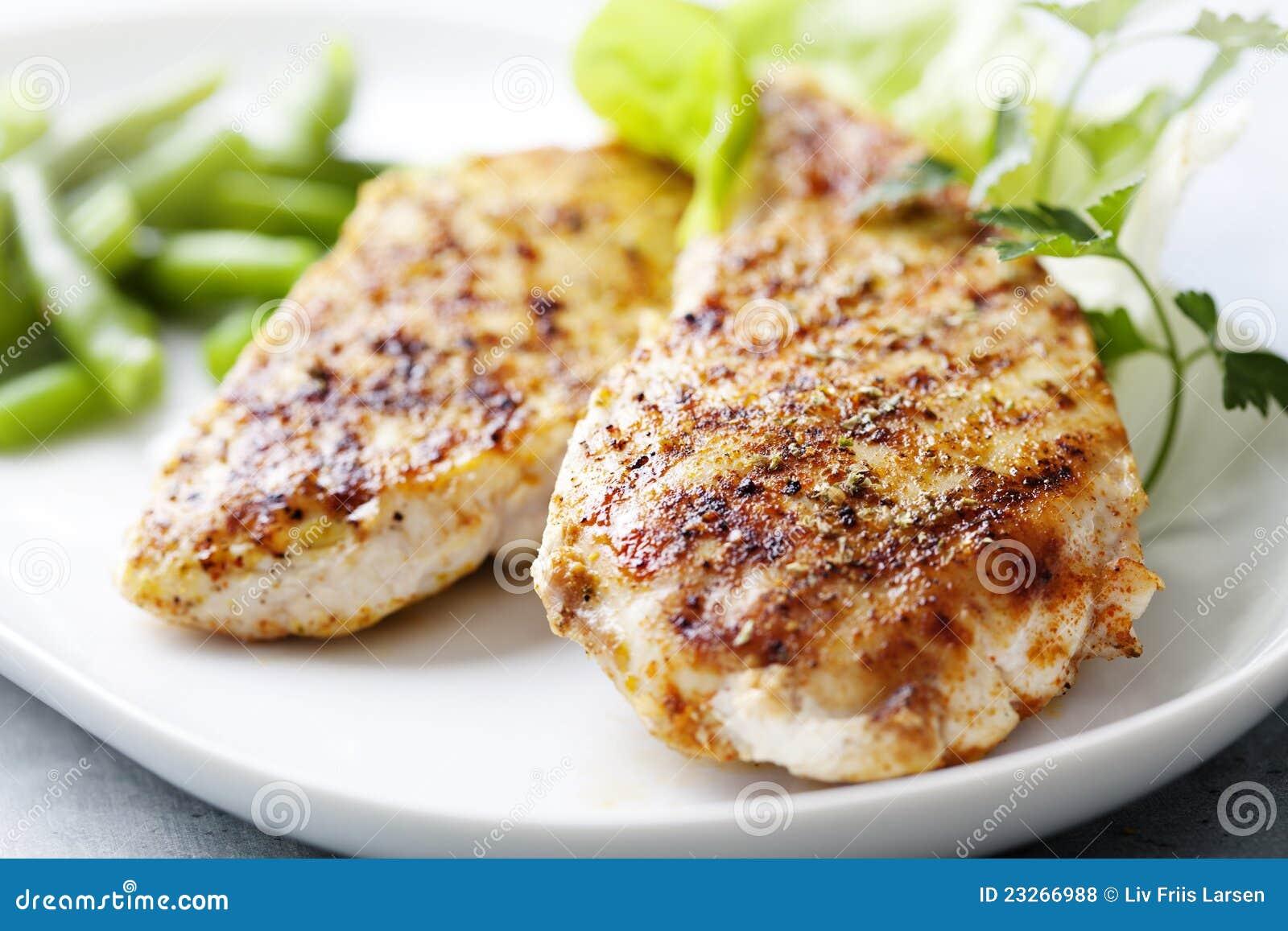 Filet grillé de Brest de poulet