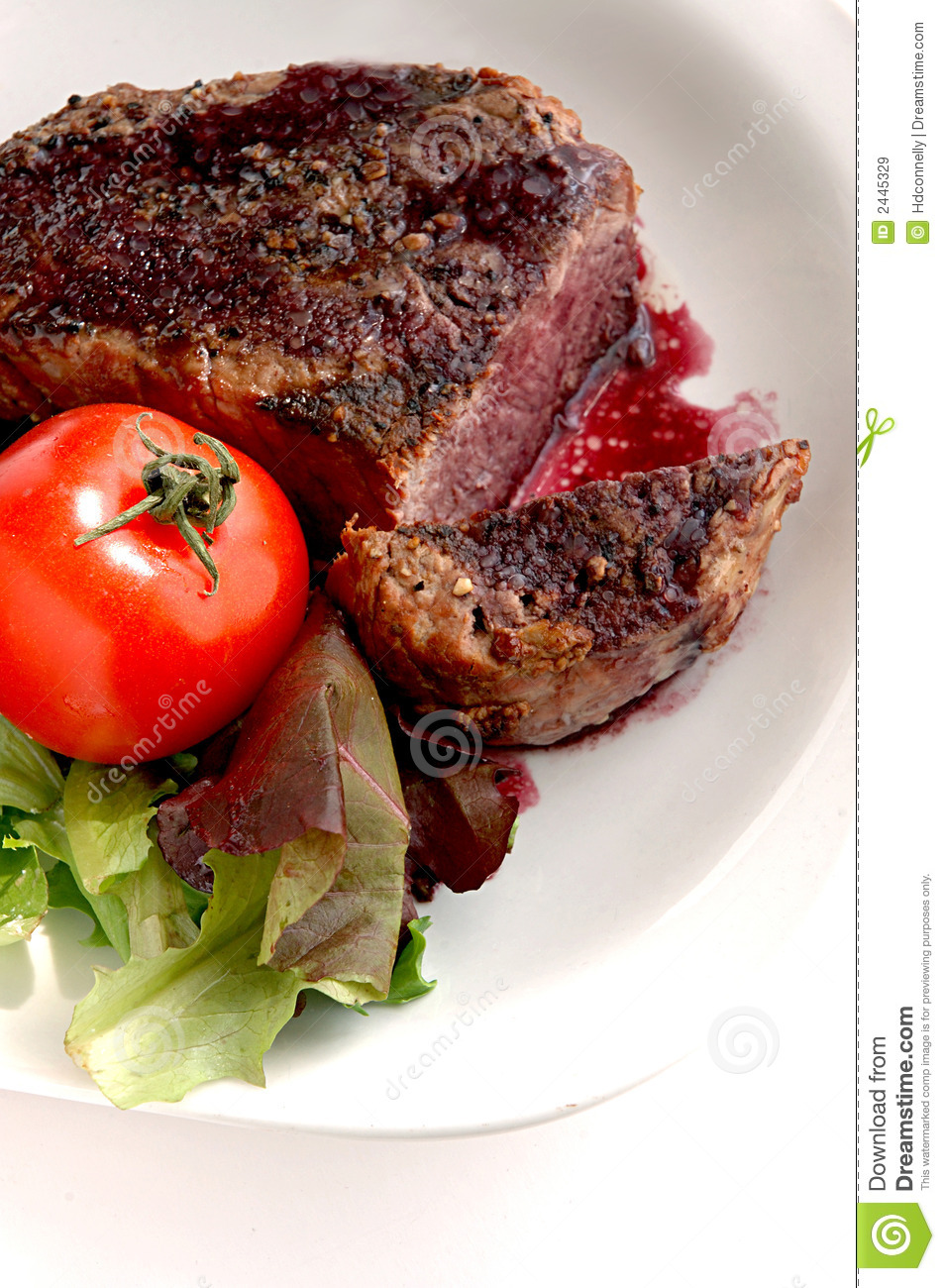 Filet Mignon Royalty Free Stock Images - Image: 2445329