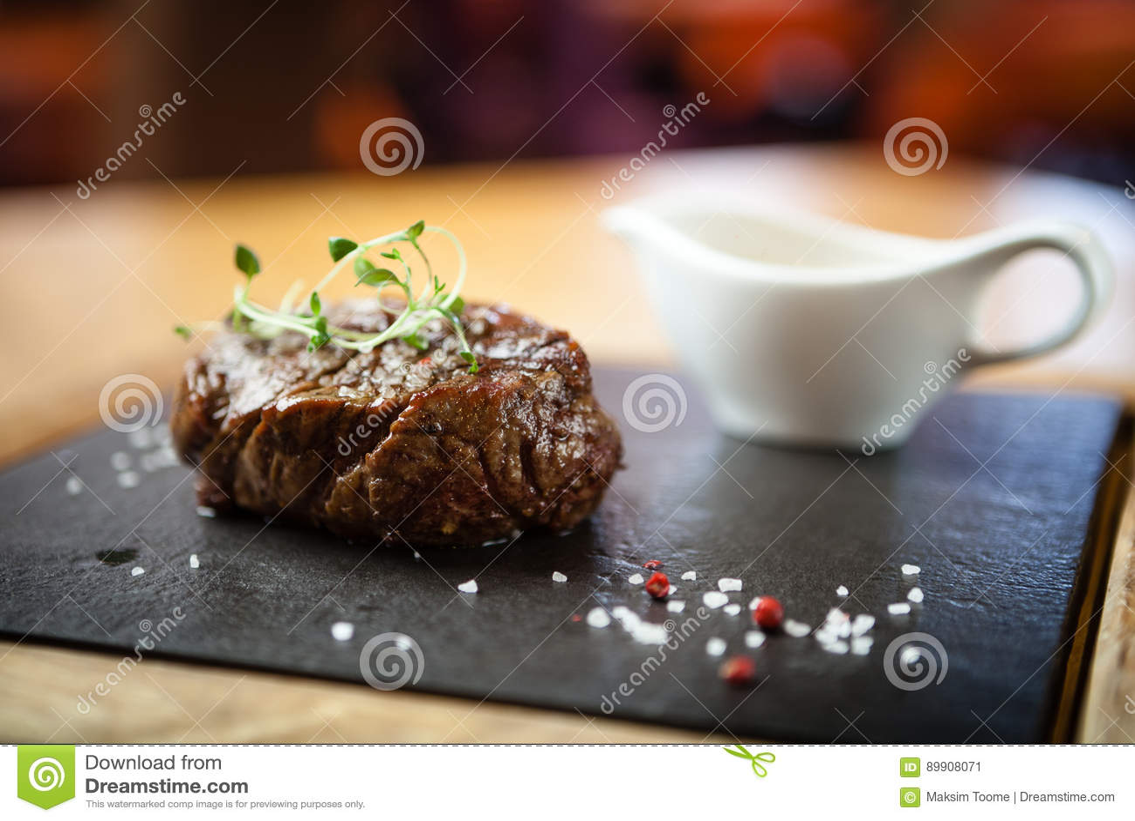 Filet mignon meal