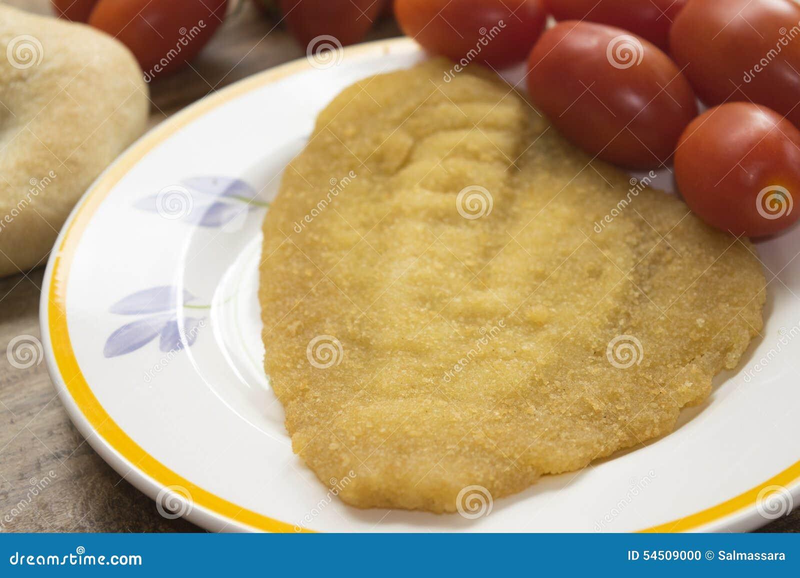 Filet unique pané et frit