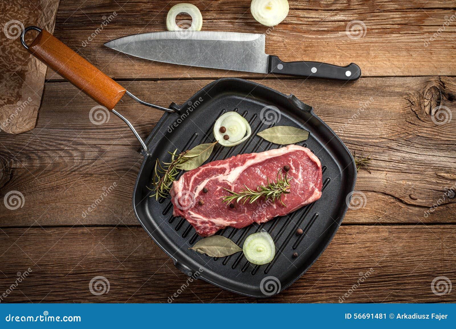 Filete de carne de vaca sin procesar