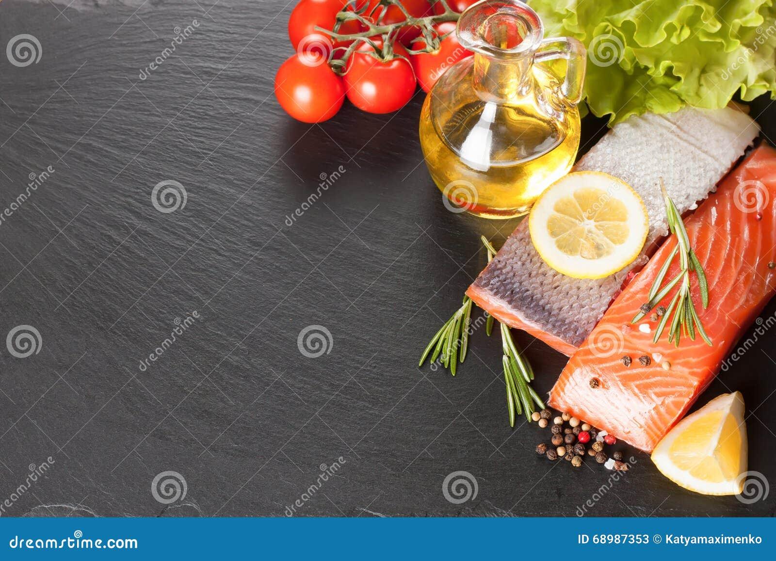 Filete de color salmón sin procesar