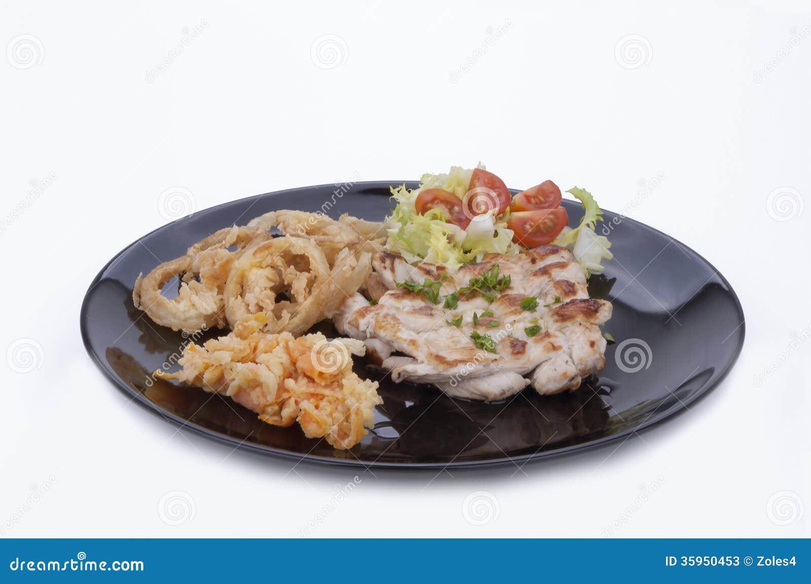 Filete del pollo