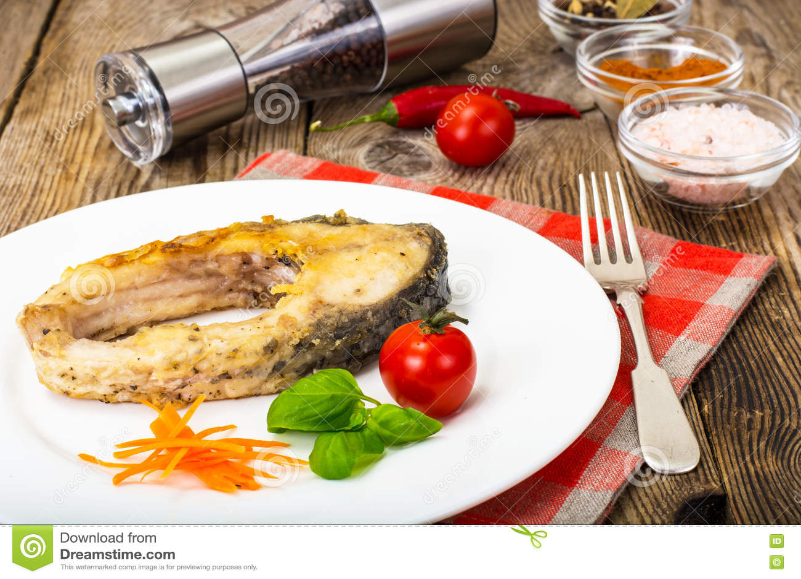 Filetes de pescados blancos fritos
