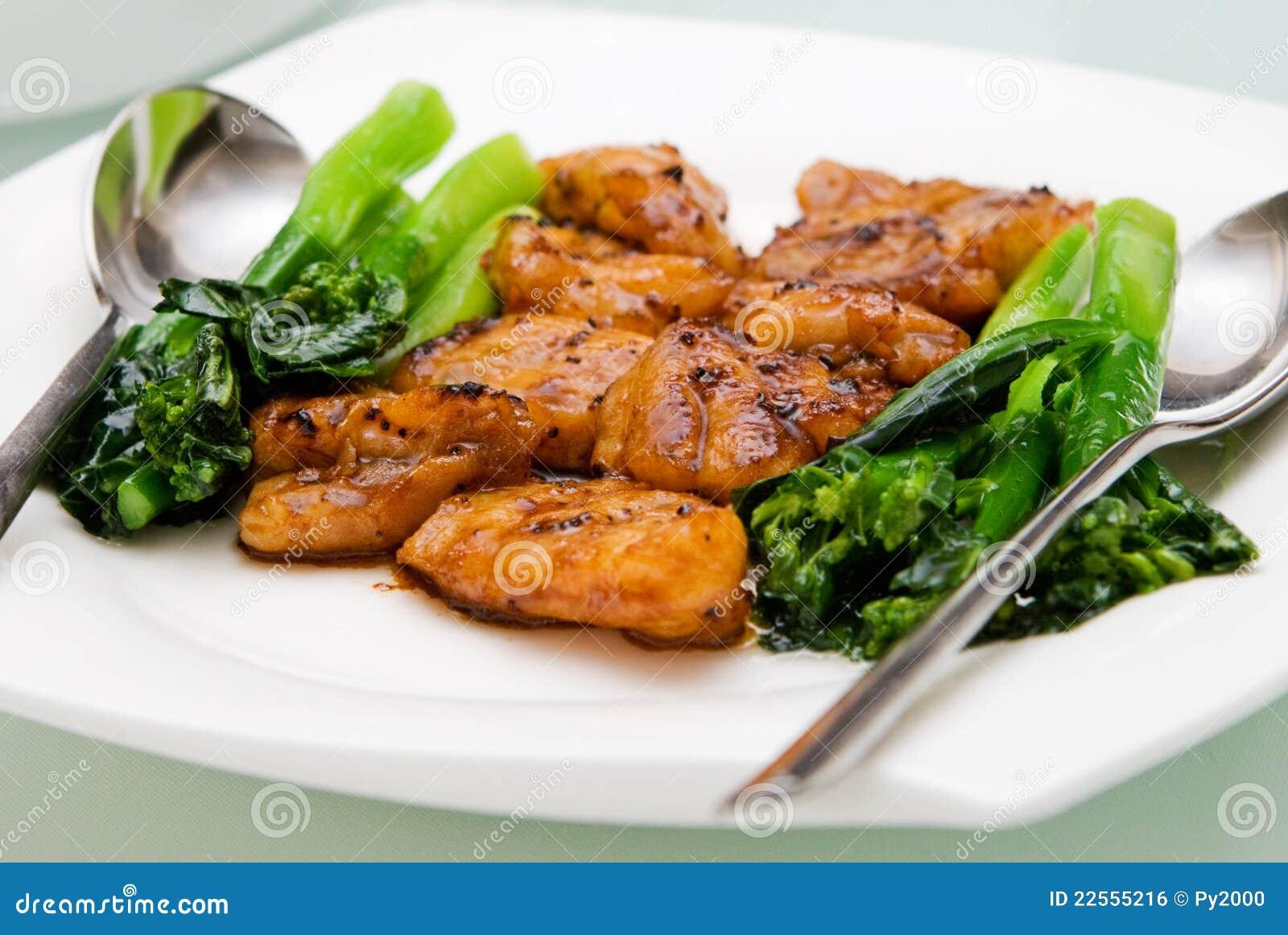 Filetes de pescados fritos chinos imagen de archivo libre for Pescado chino