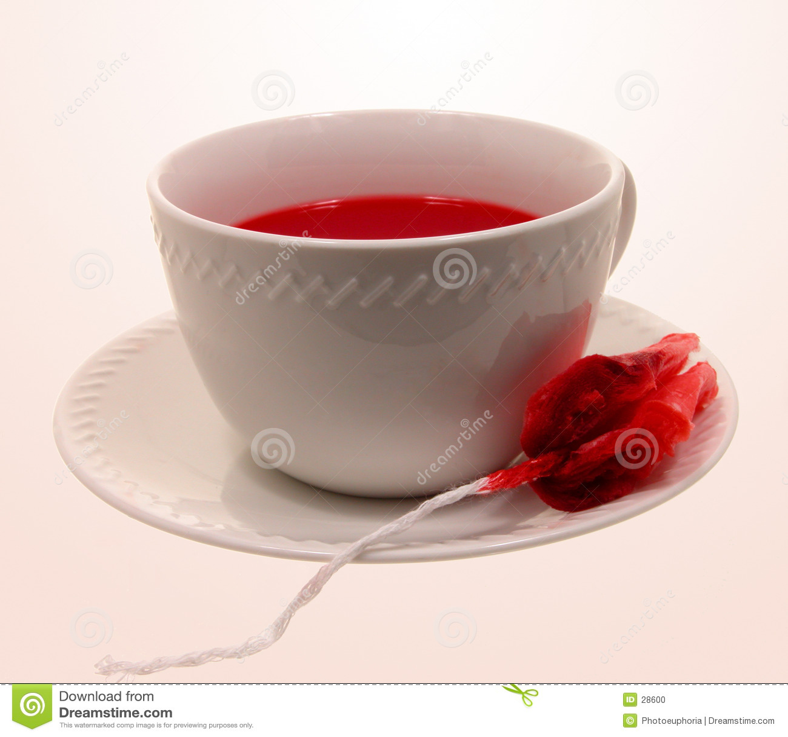 Filiżanki herbaty Halloween gorąco wampir