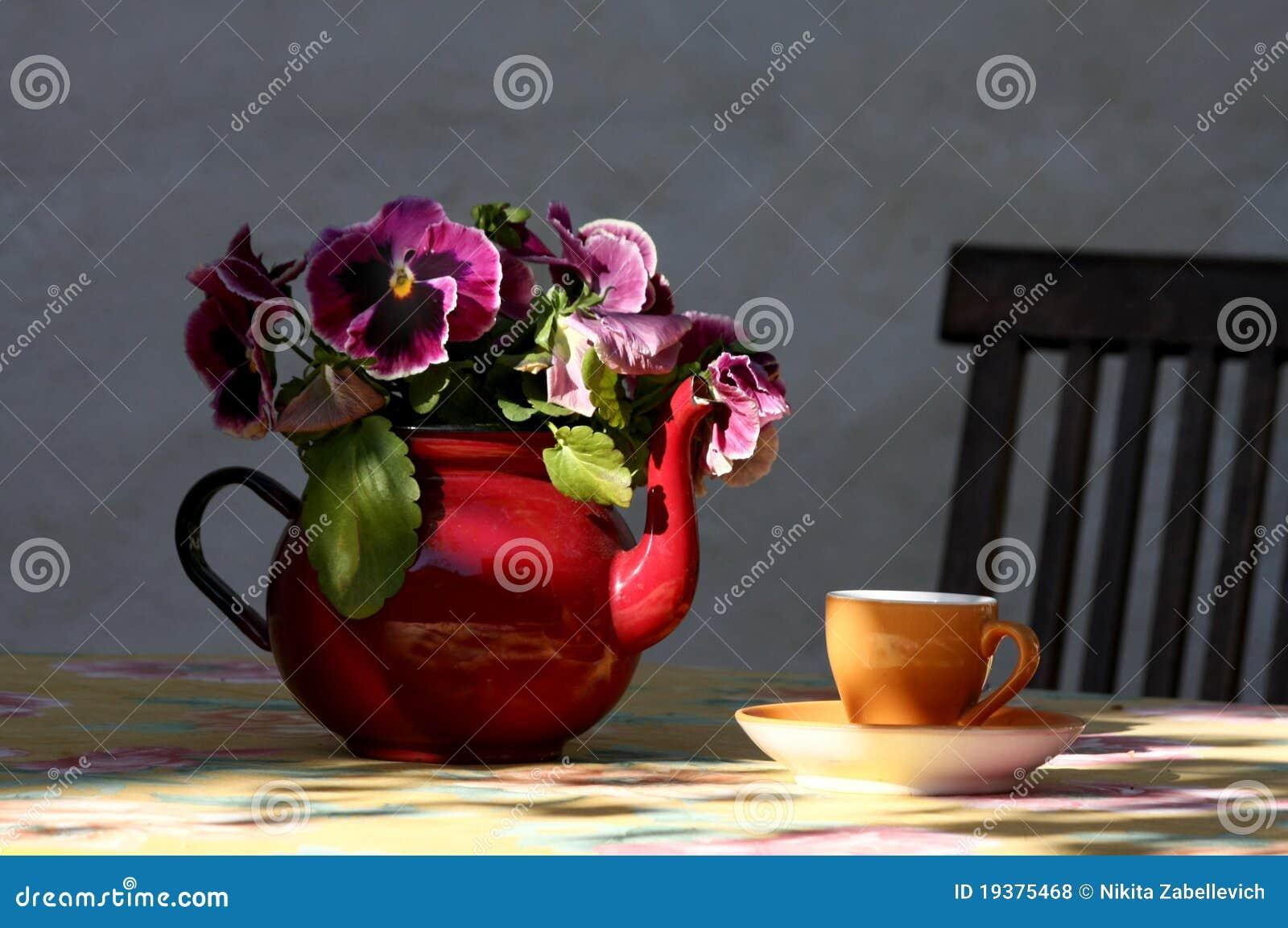Filiżanki teapot