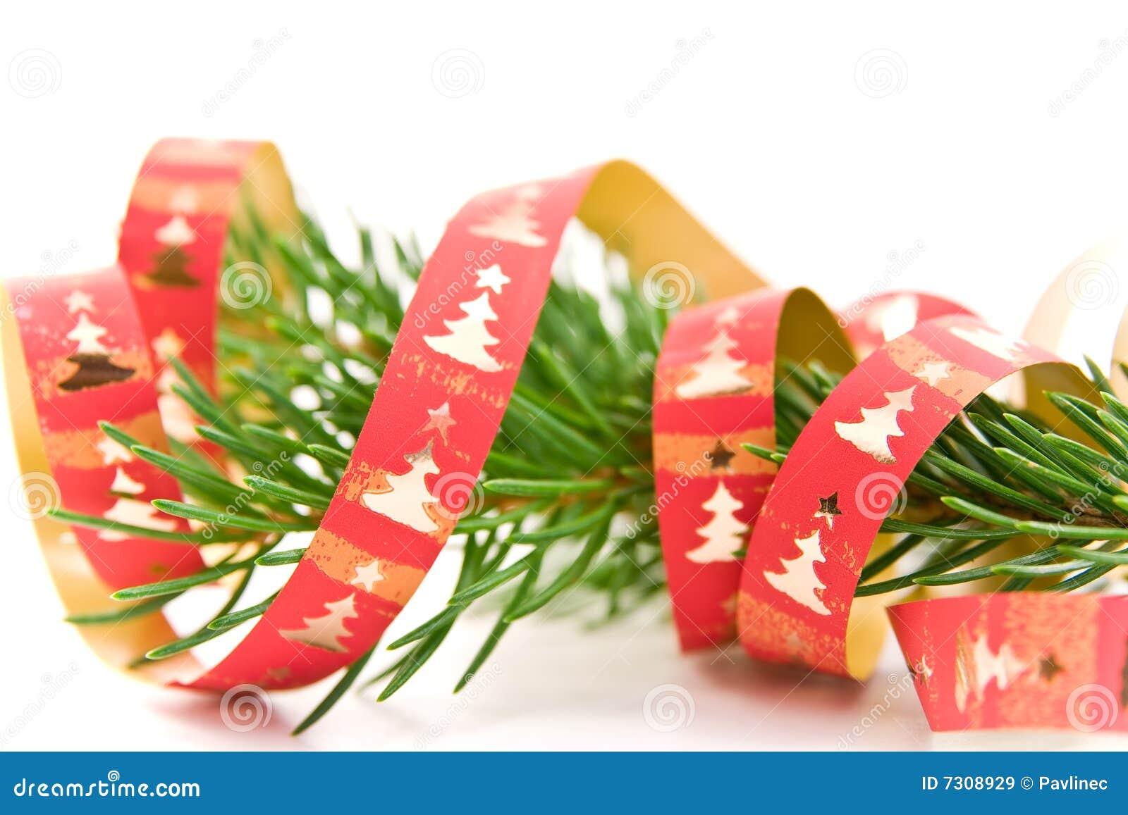 Filiale decorata dell albero di Natale