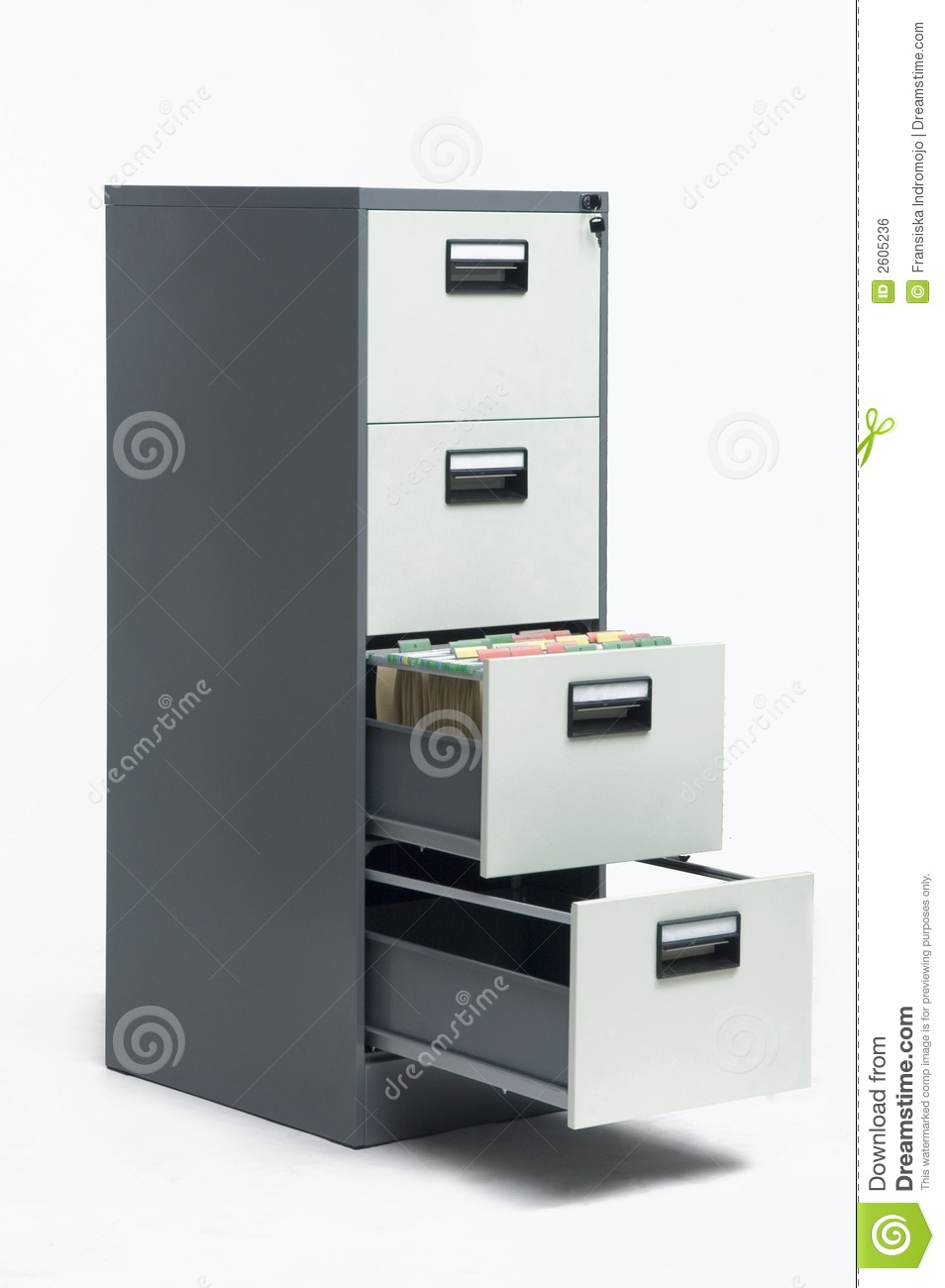 filing cabinet royalty free stock image image 2605236