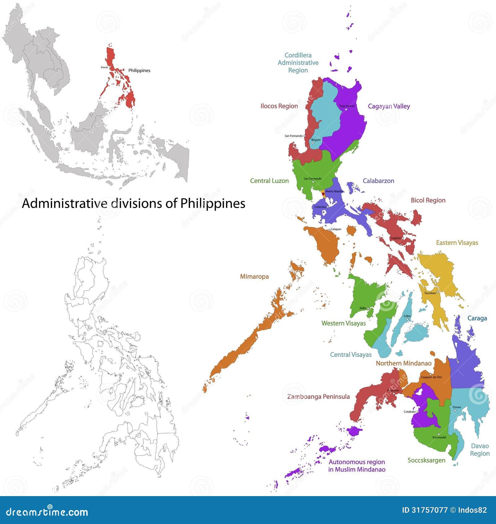 Filipińska mapa