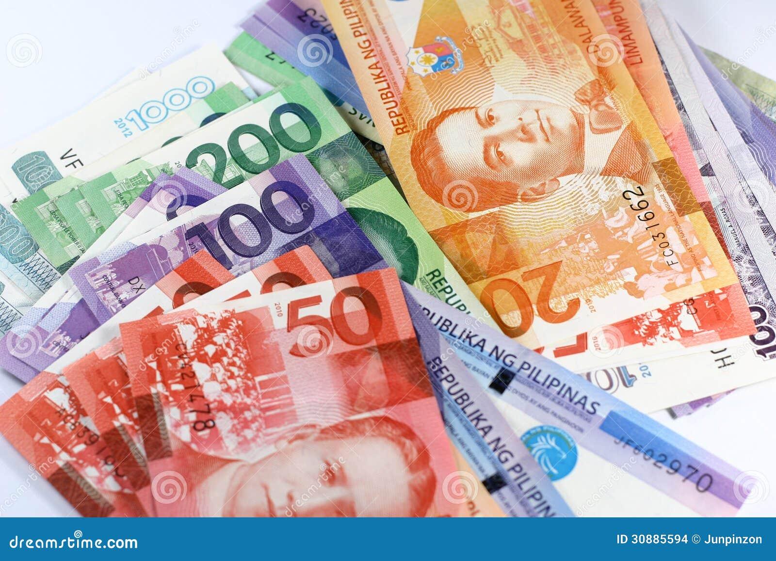 Filipińskiego peso rachunki