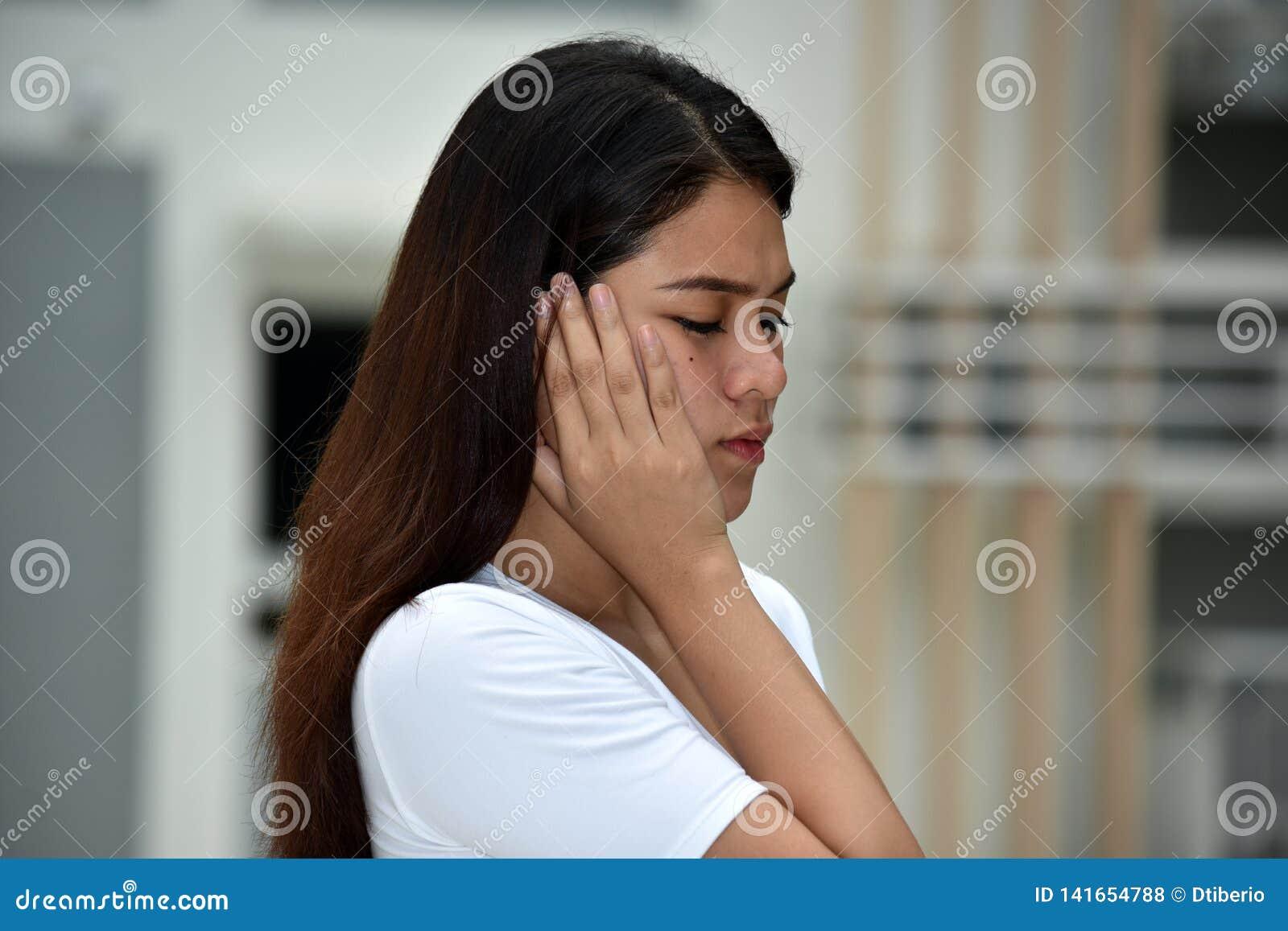 Filipina Adult Female Alone
