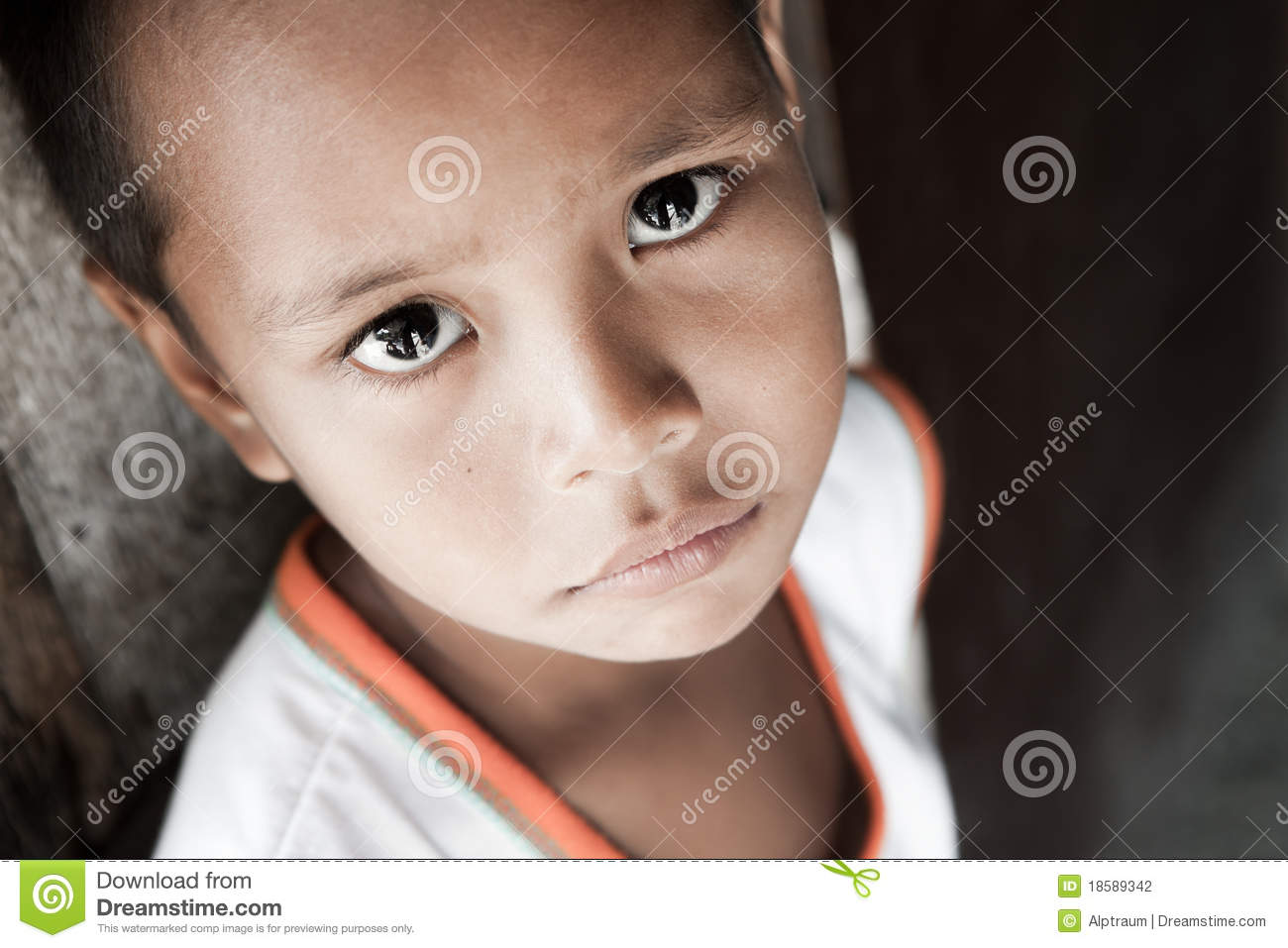 Portrait Of A Filipino Boy Living In Poverty Natural Light Manila on Asian House Design