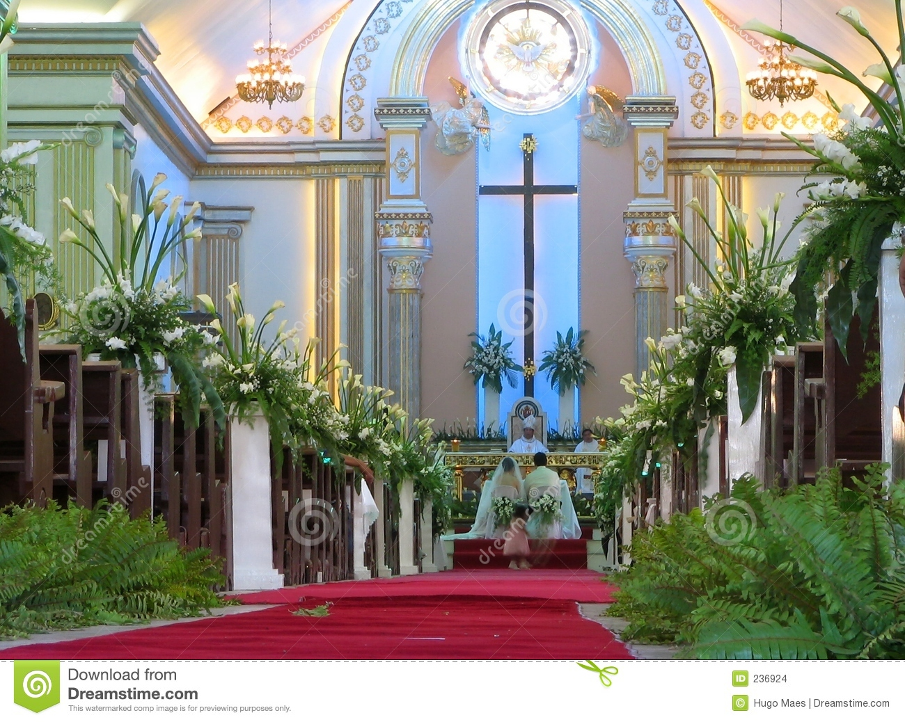 Filipino Wedding Stock Photo Image Of Catholicism