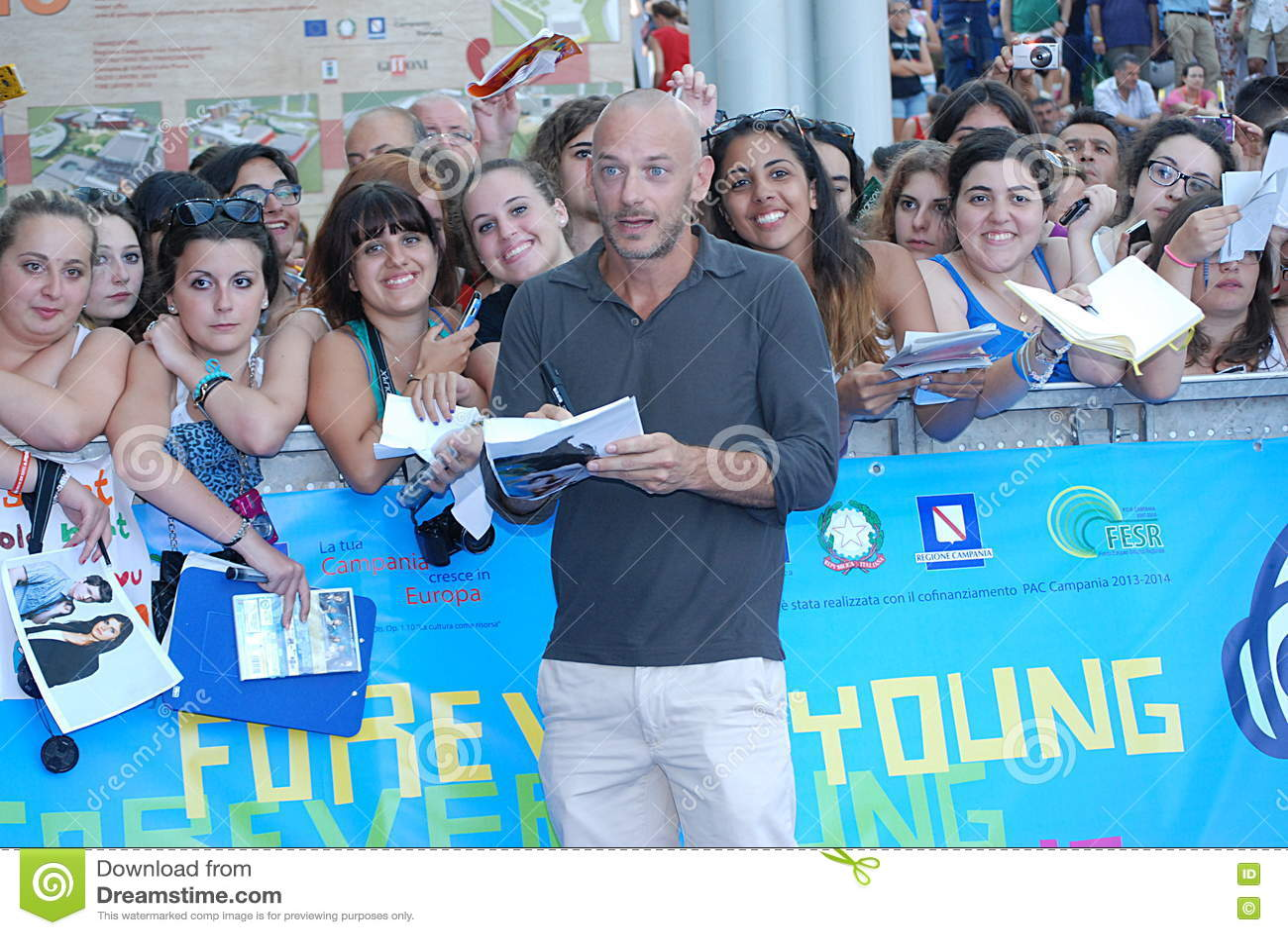 Filippo Nigro al Giffoni Film Festival 2013