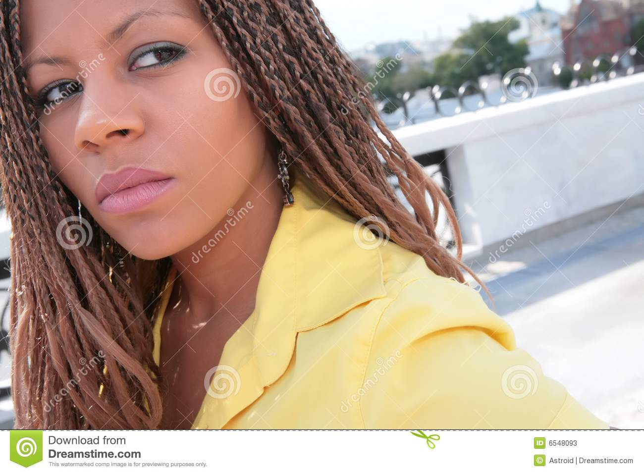 Fille africaine