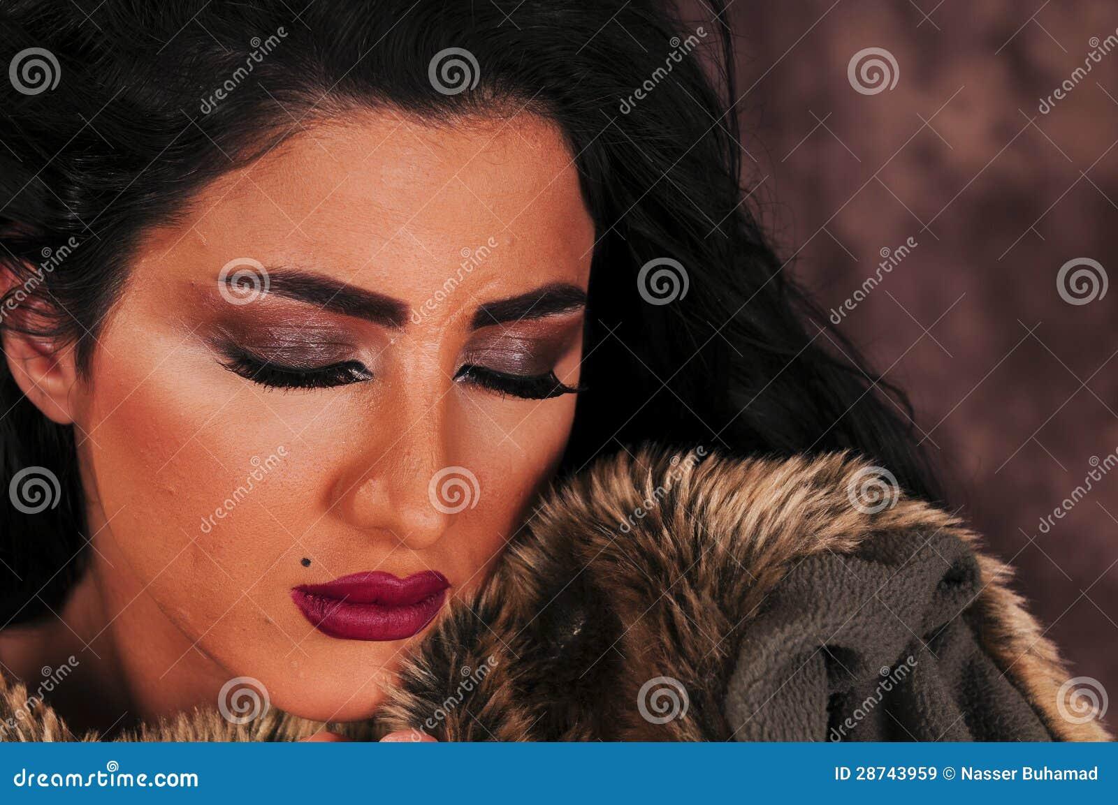 Fille arabe
