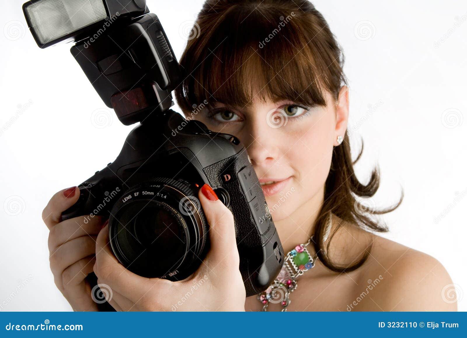 appareil photo fille