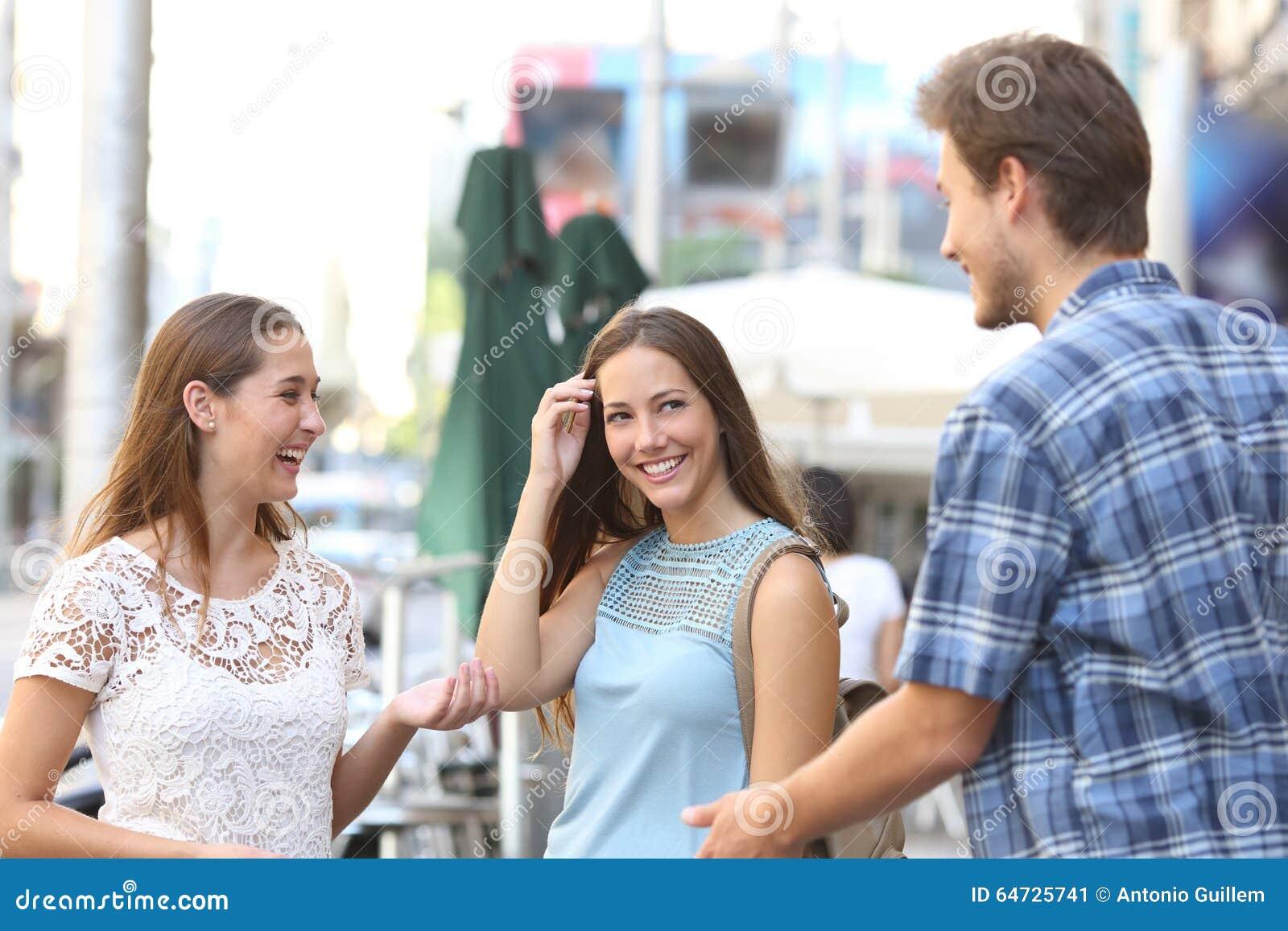 Flirt avec un garcon
