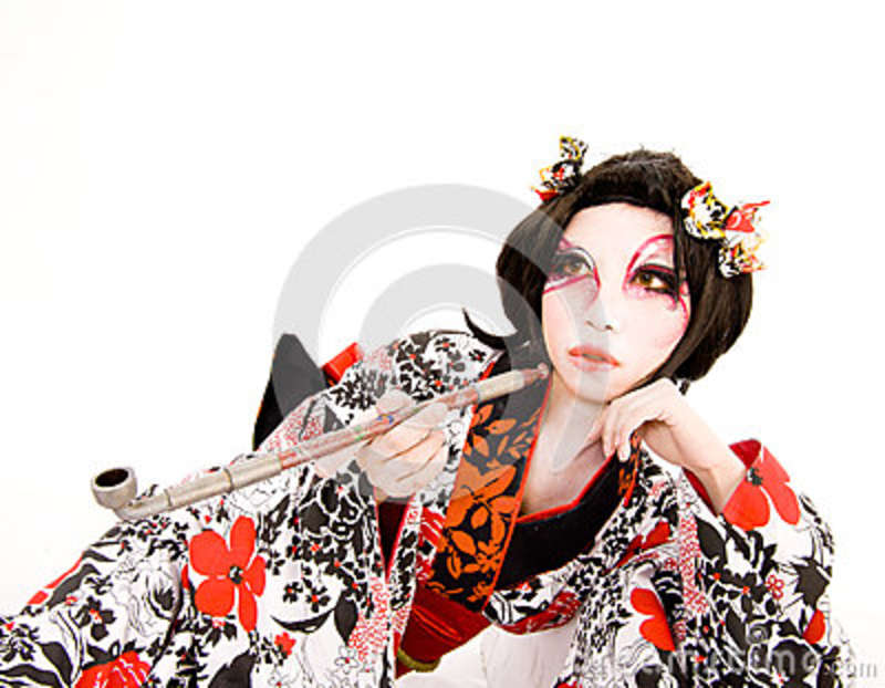 japonais cosplay pipe