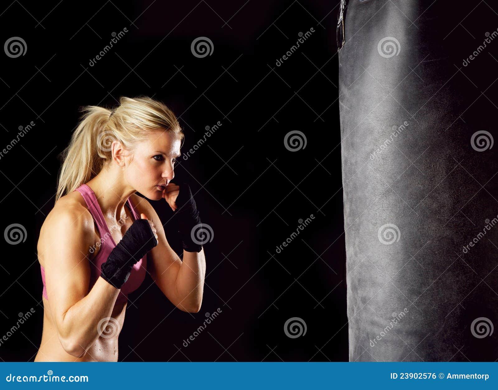 Fille de boxe
