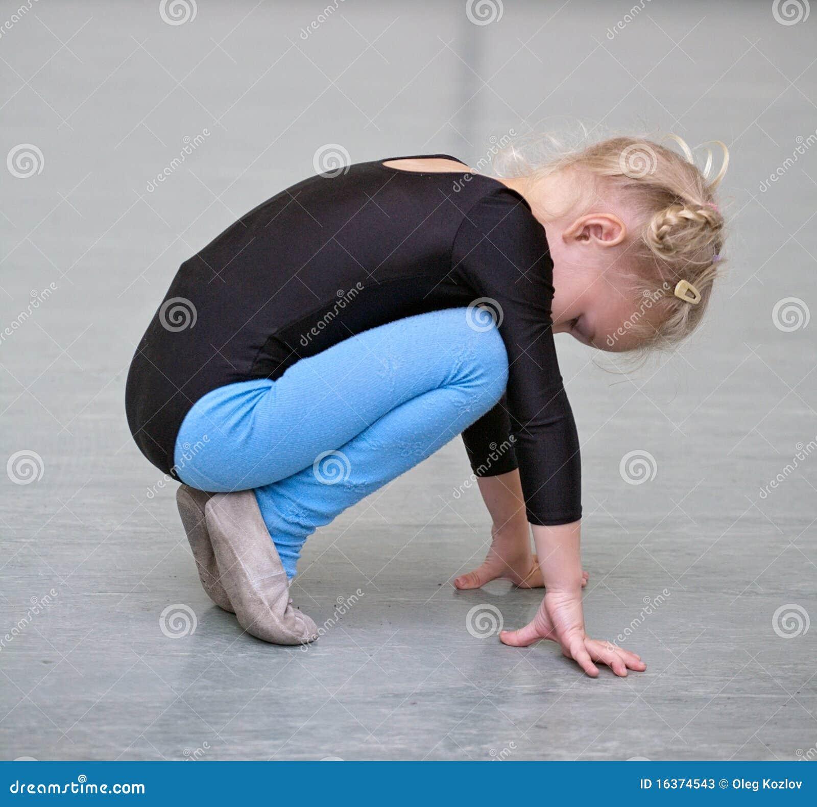 Fille de gymnaste