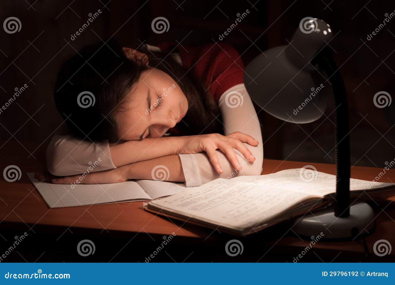 Photos de fille endormie