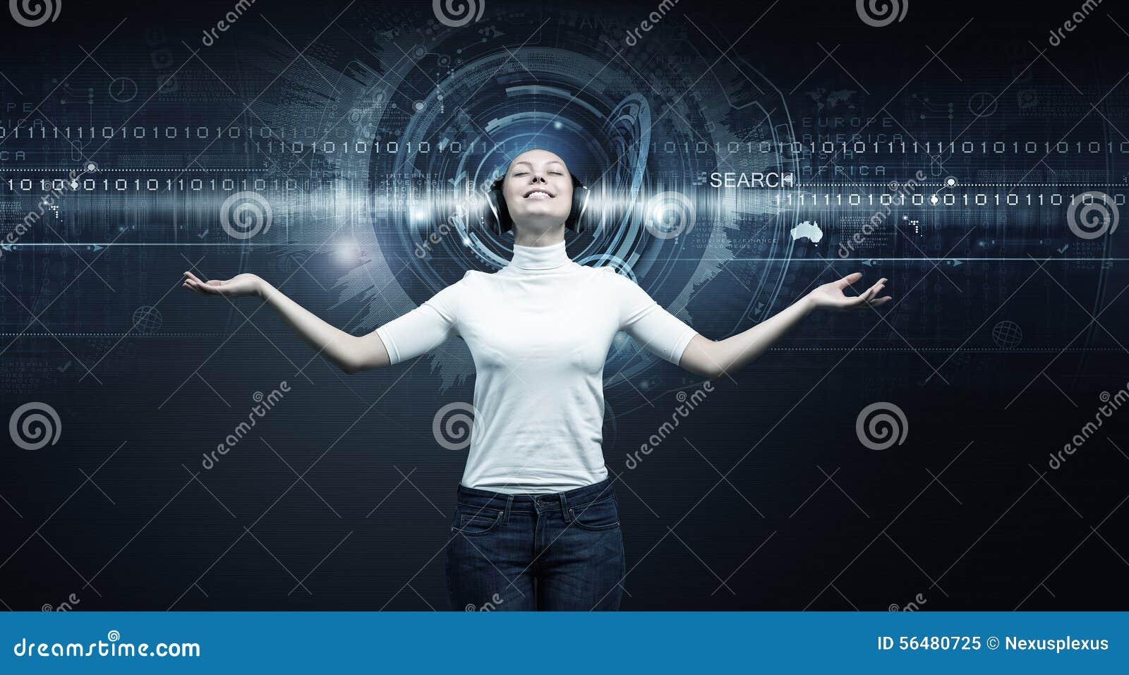 Fille et technologies de l avenir