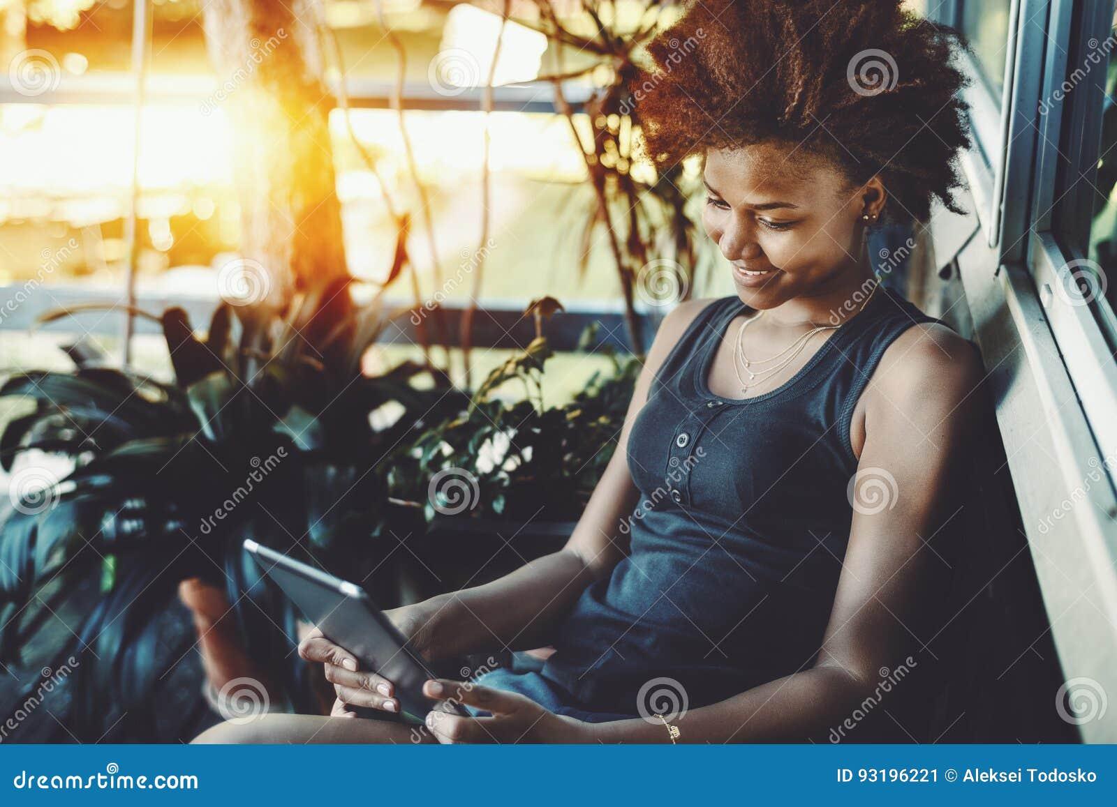 fille noire fait maison