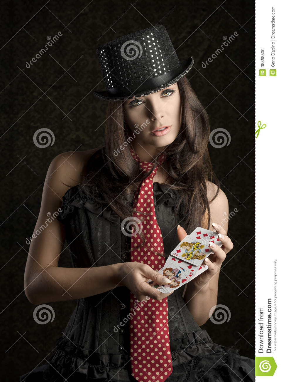 Poker cards sexy