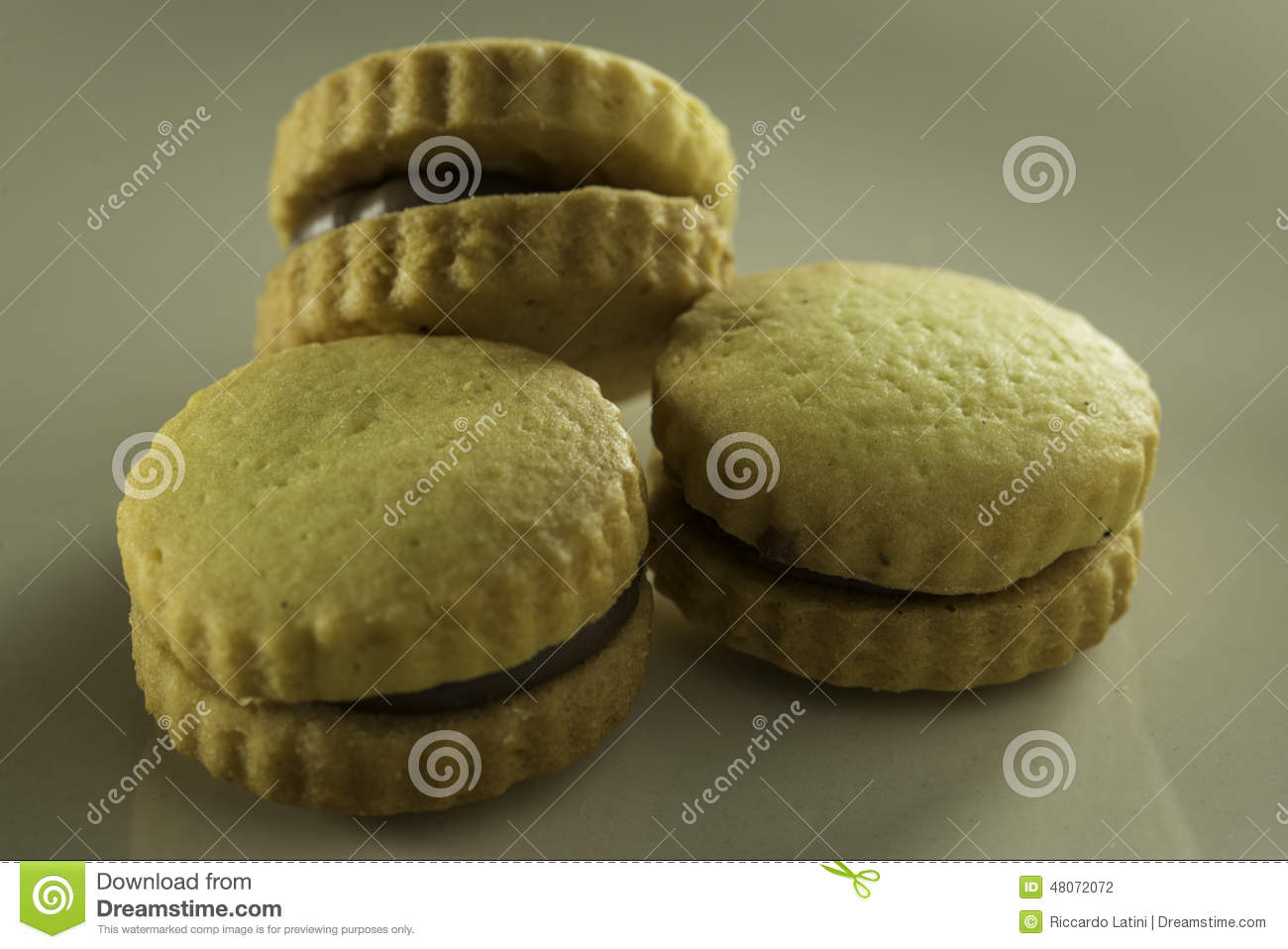 Filled biscuits stock photo. Image of shop, sweet, festivity