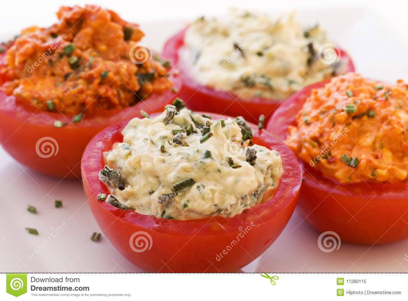 Filled Tomatoes Royalty Free Stock Photo - Image: 11280115