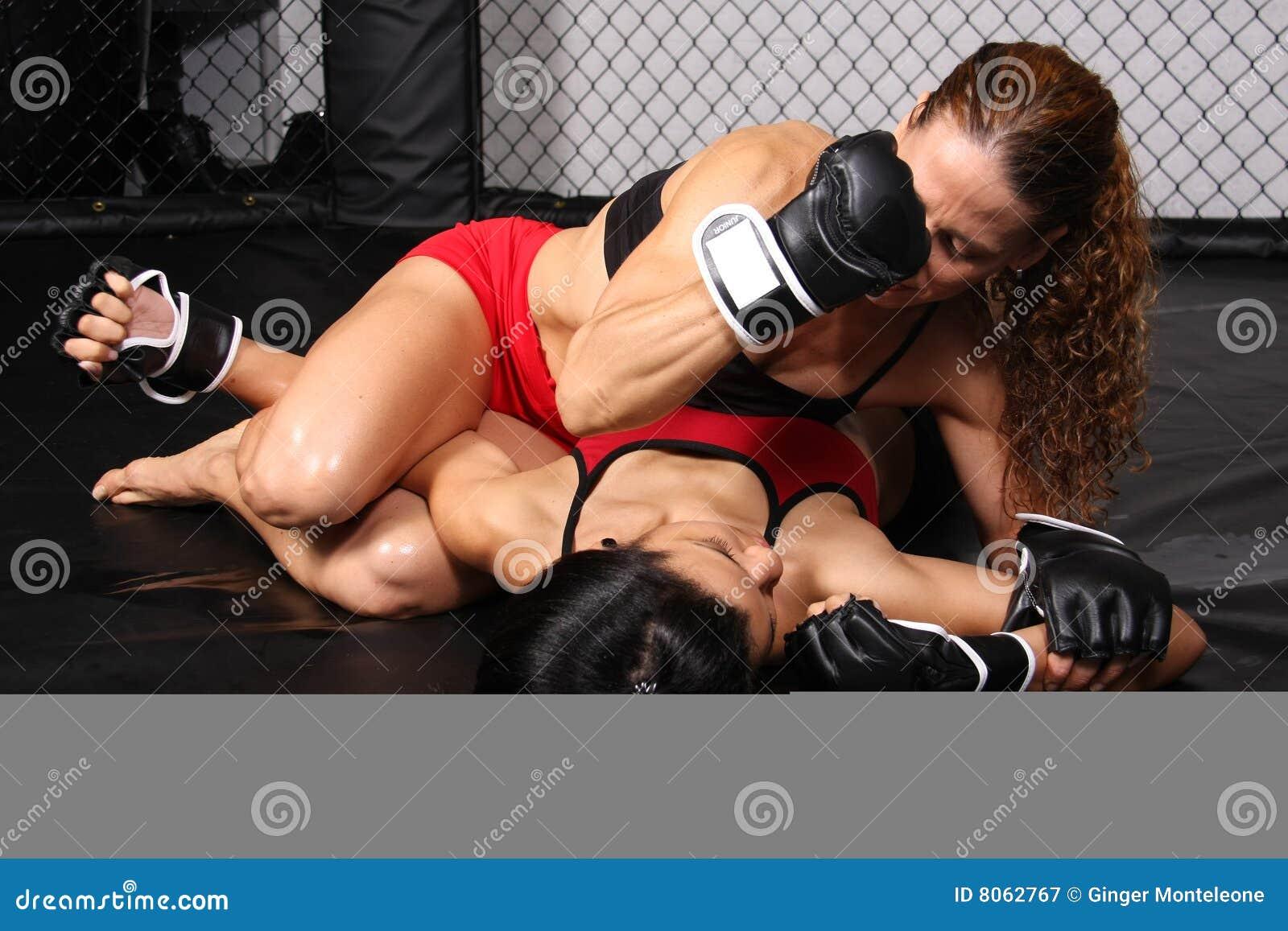 Filles de chasseur de MMA