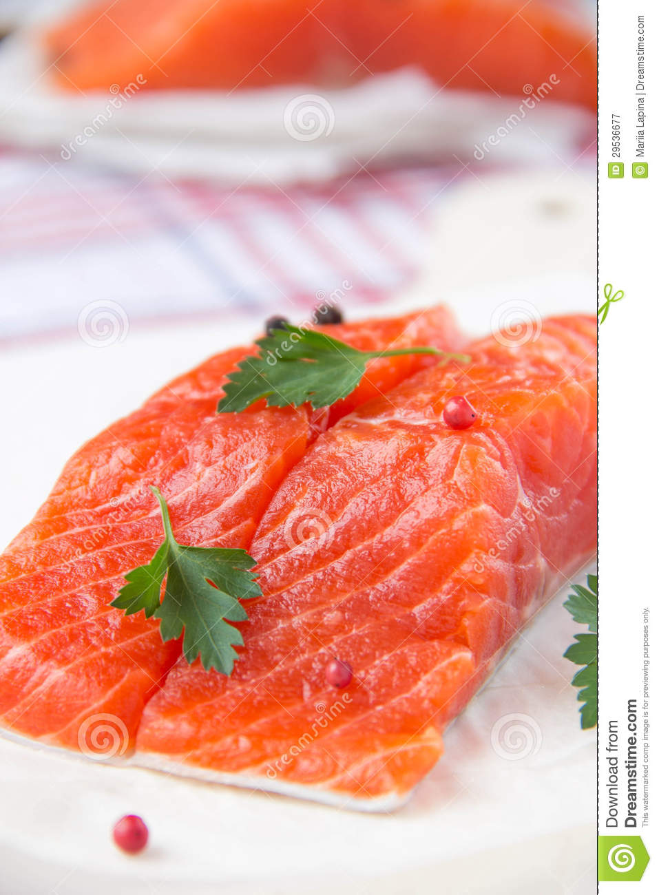 Fillet of red fish royalty free stock photography image for Red fish fillet