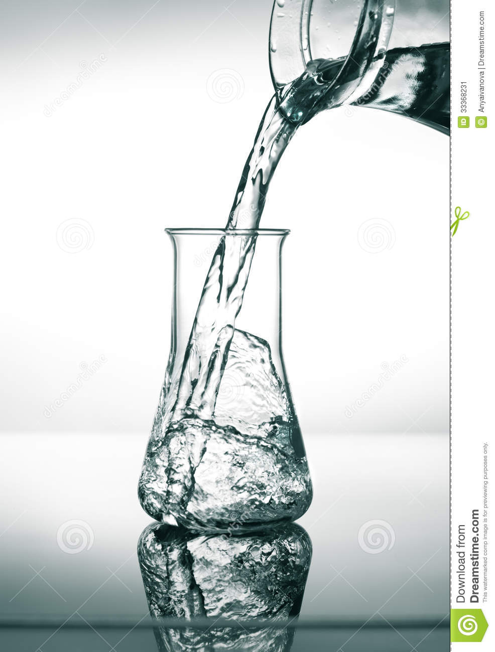 water and conical flask Why is it that the conical flask is rinsed with distilled or de-ionised water and not the unknown solution itself in acid-base titration shouldnt that reduce the affect on the concentration.