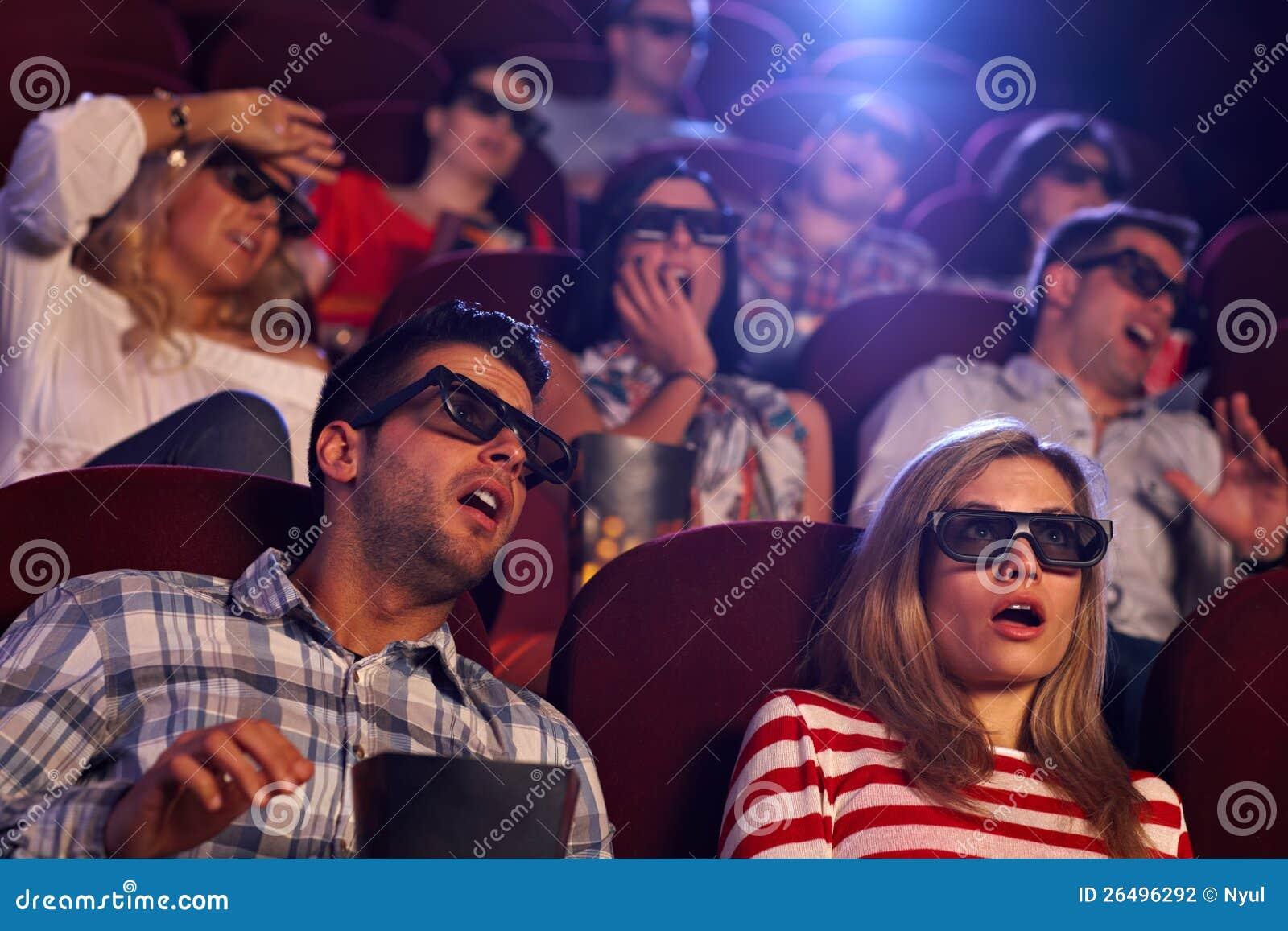 Film 3D choquant dans le cinéma