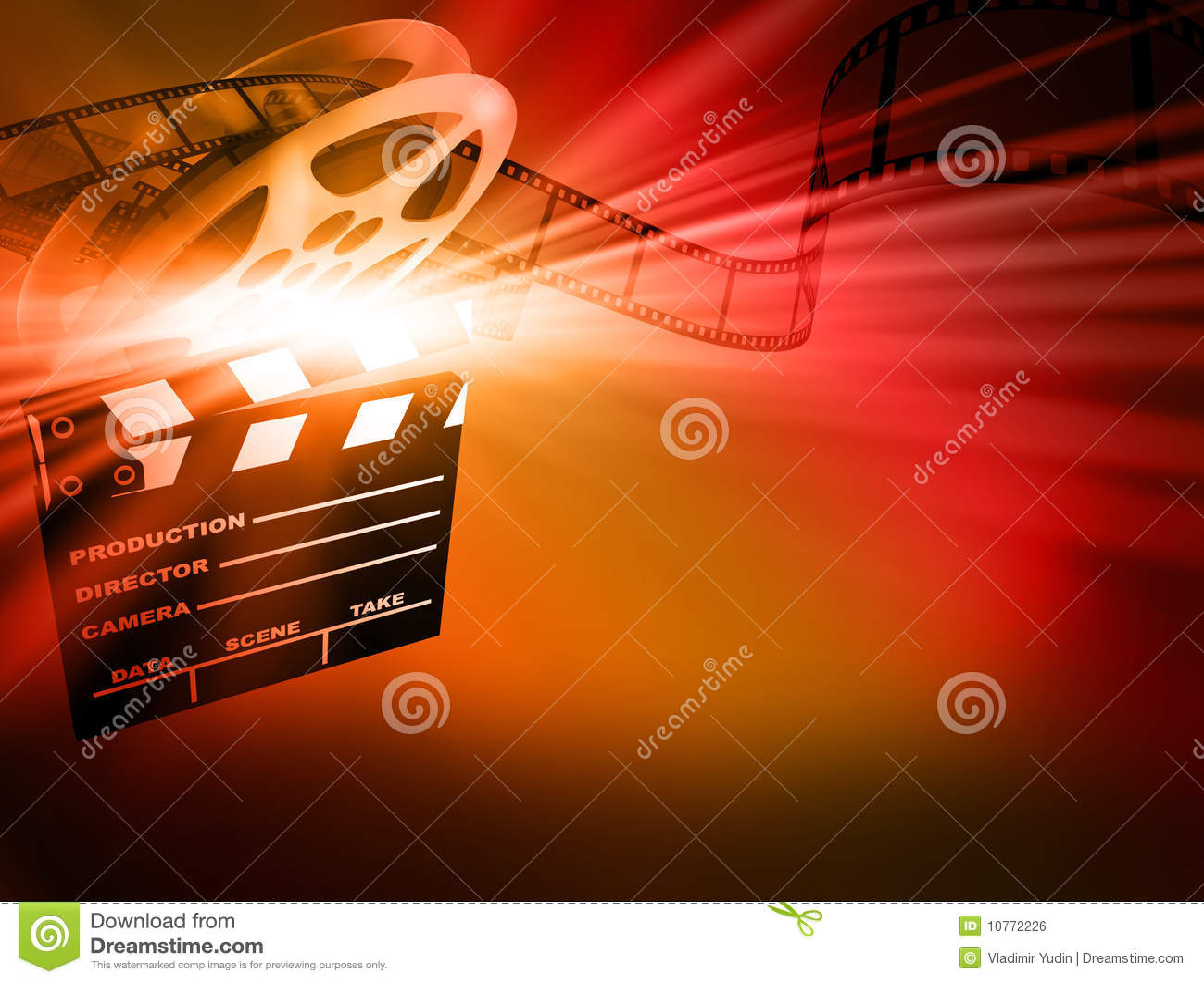 Film background.