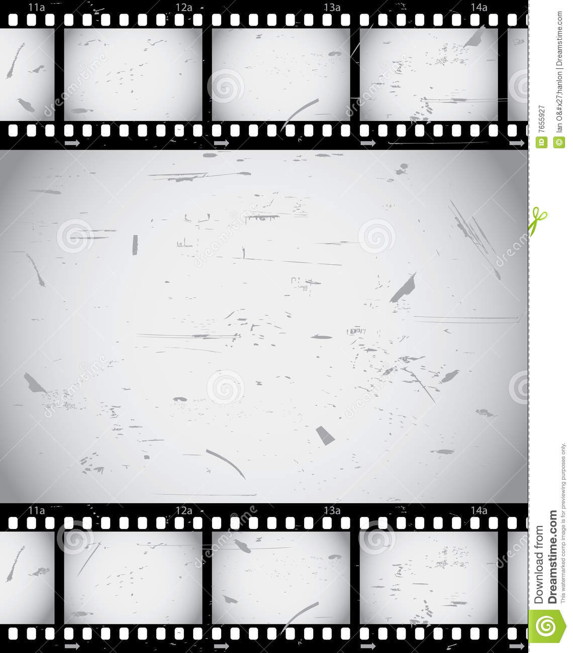 Film border stock vector. Image of grunge, strip, camera ...