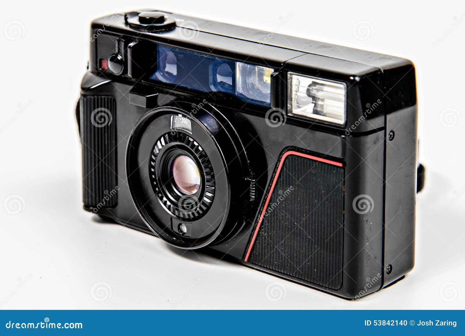 Film camera angled stock photo image of text angled for Camera film logo