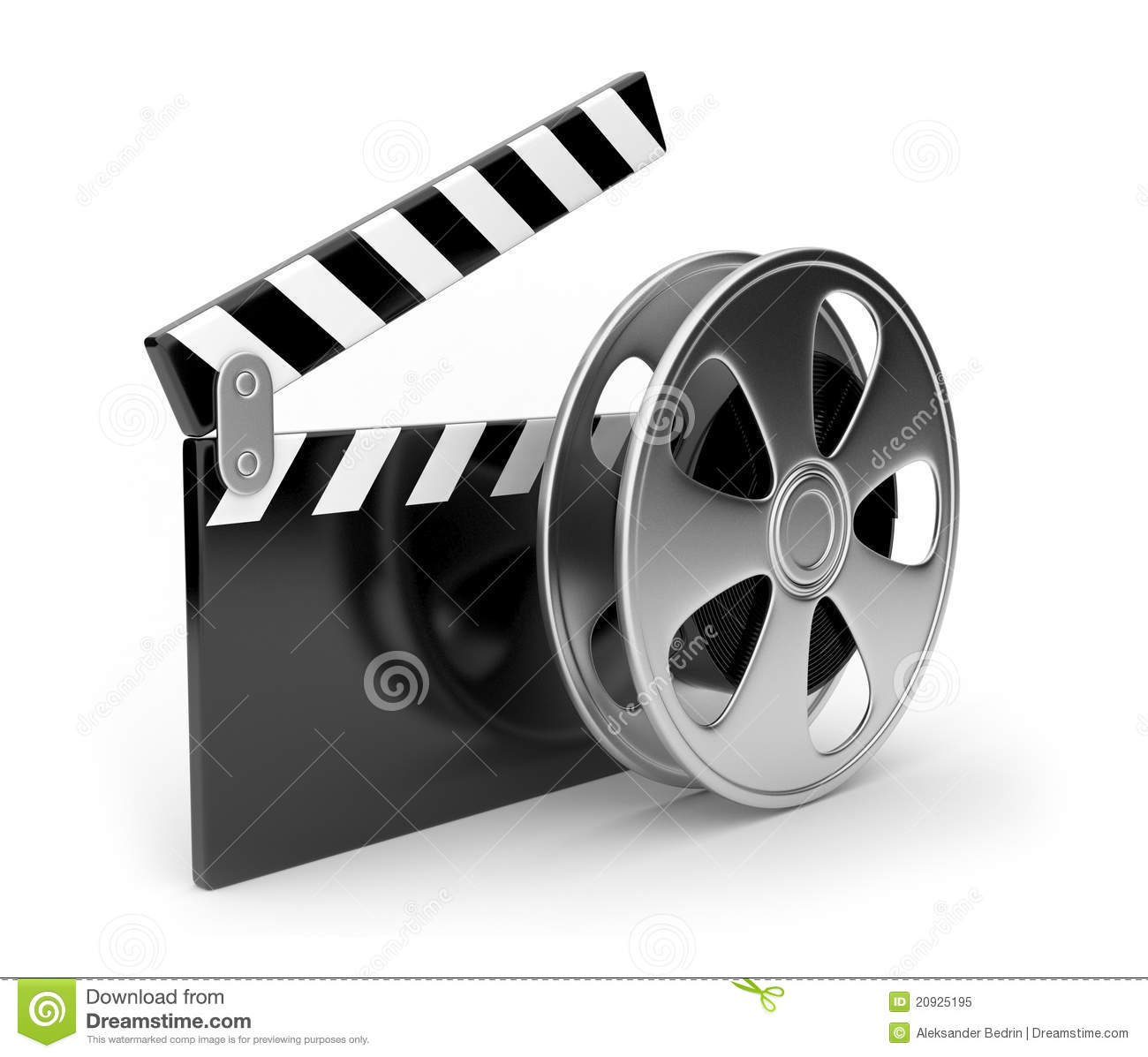 film and clap board movies symbol 3d royalty free stock clap clipart black and white clip clip art crying