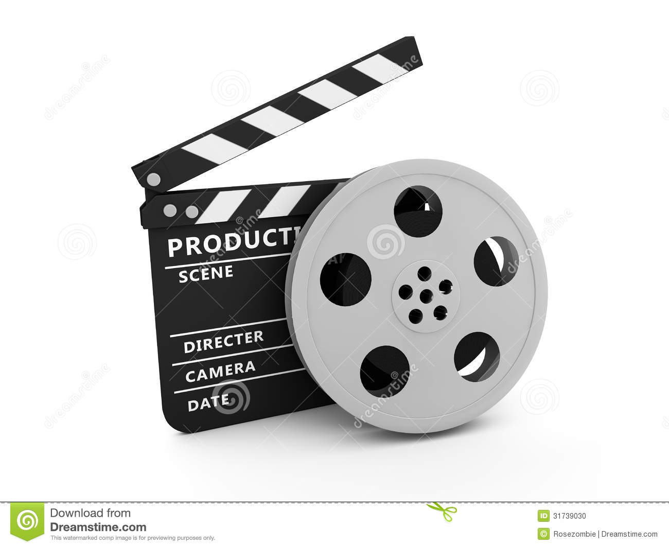 How To Read A House Plan Film And Clapper Board Stock Photo Image 31739030