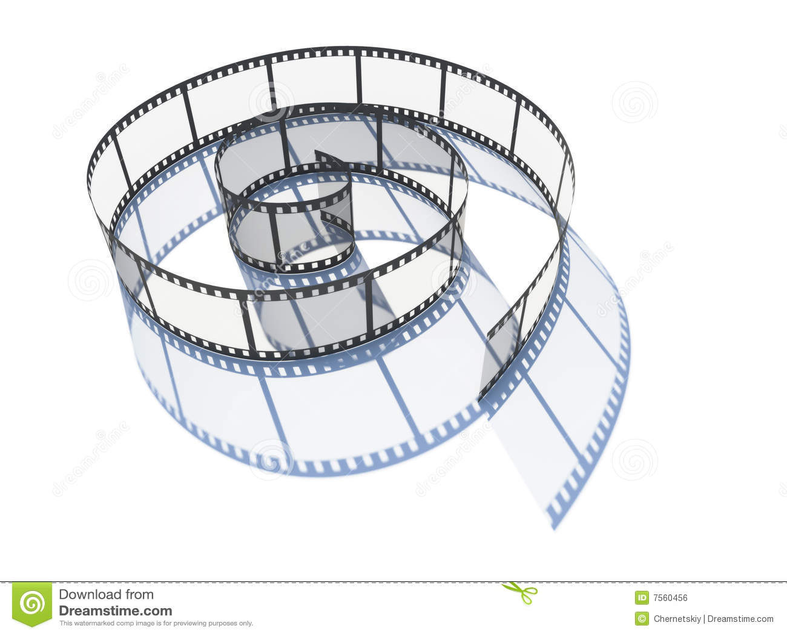 Film curled