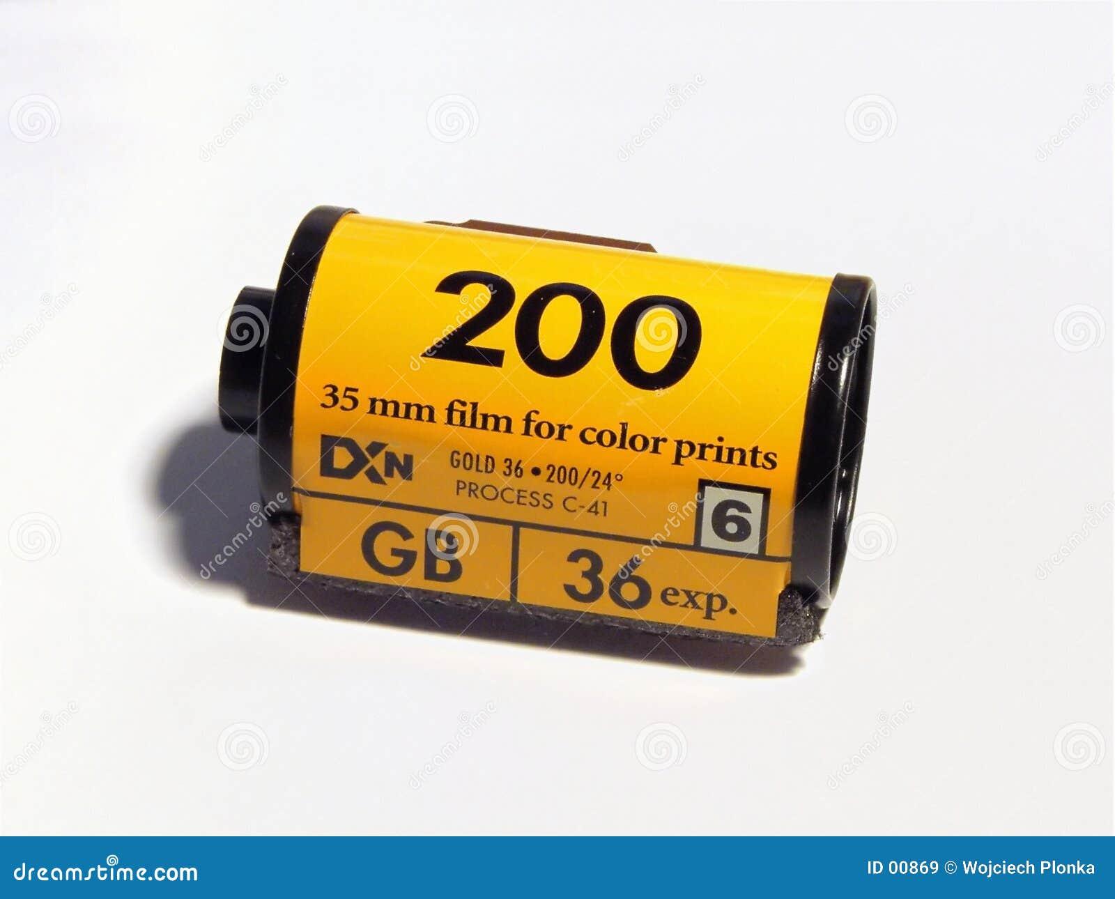 Film d appareil-photo
