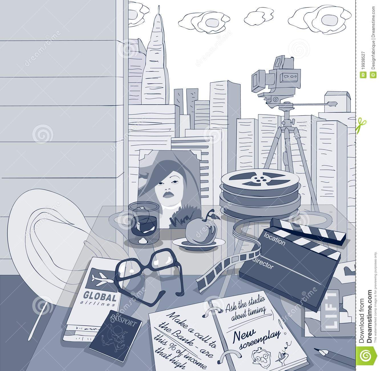 a description of moviemaking process Filmmaking is the process of making a film the nature of the film determines the size and type of crew required during filmmaking many hollywood adventure films employ a cast and crew of thousands and have complicated computer generated imagery (cgi), while a low-budget, independent film may be .