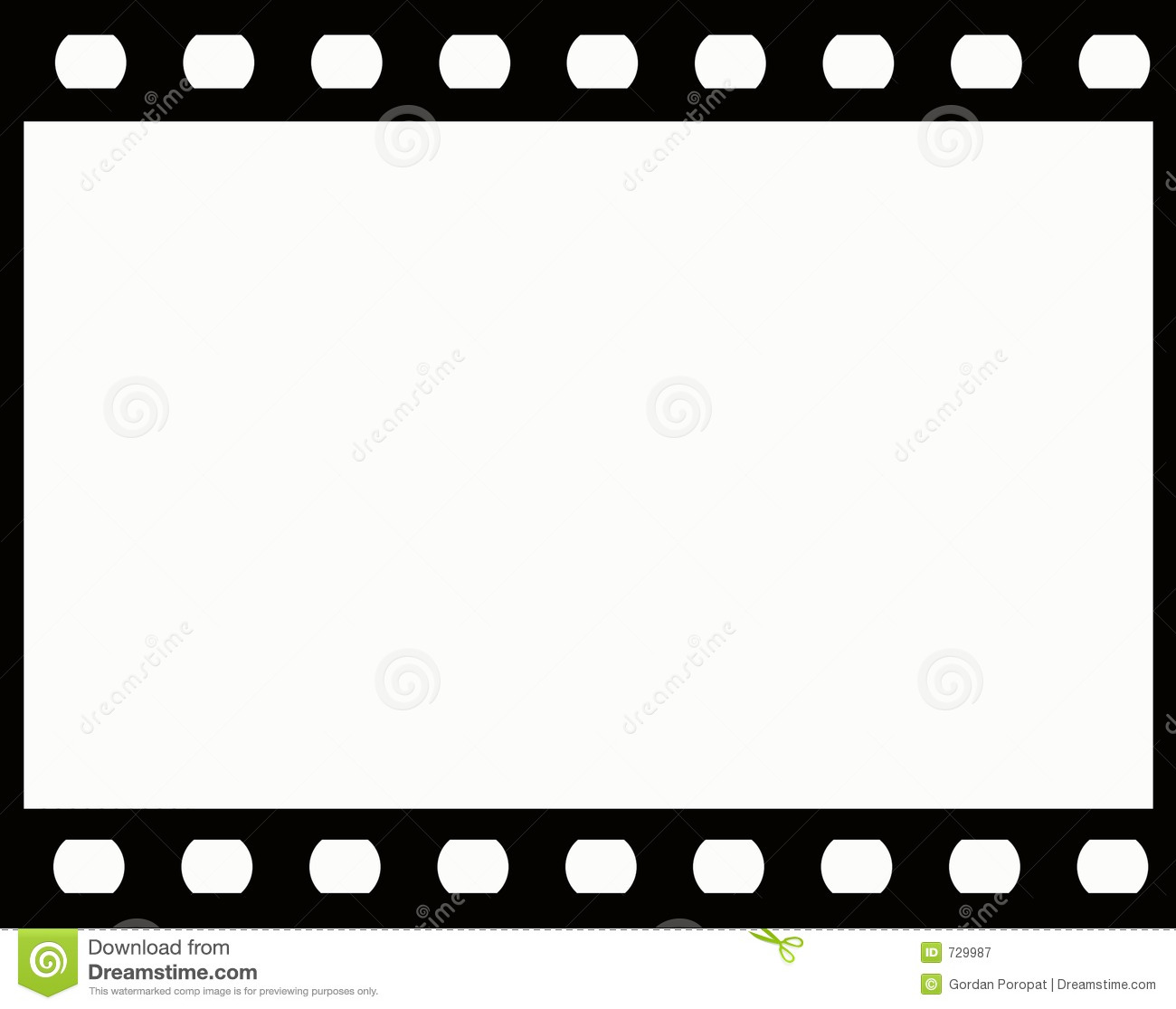 Film Frame Royalty Free Stock Photography Image 729987