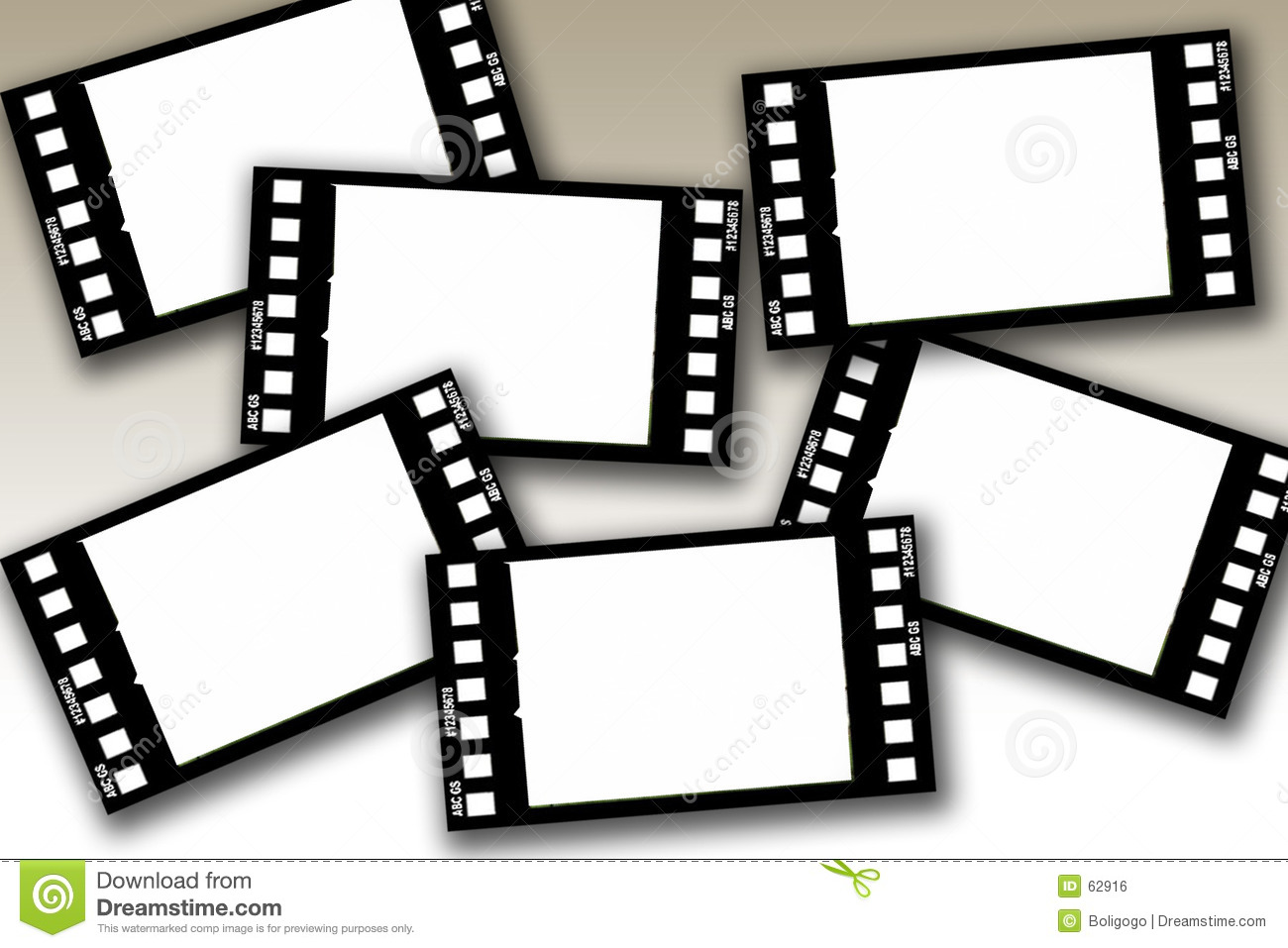 Film frames royalty free stock image image 62916 - Marco de fotos multiple ...
