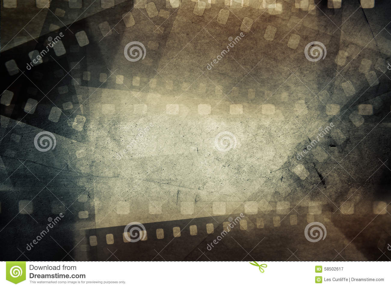 Film Frames Stock Photo - Image: 58502617